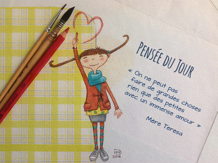 illustration jeunesse amour mere teresa