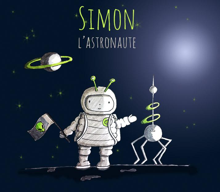 Simon l'astronaute