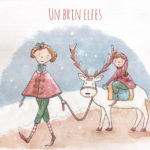 Illustration jeunesse Elfes Noel