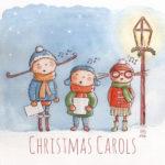 Illustration jeunesse Chants de Noël
