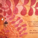 Illustration jeunesse Capucine Ecureuil