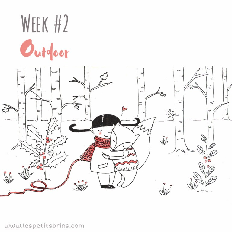52 weeks illustration challenge outdoor