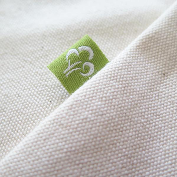 Detail tissu coton BIO 350 gr/m²