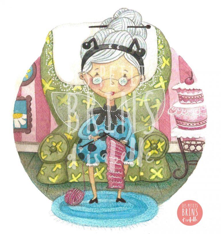 illustration-52-weeks-illustration-challenge-grandmother