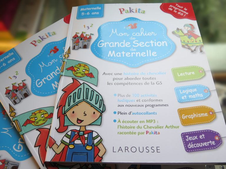 Illustration cahier de grande section maternelle - Larousse