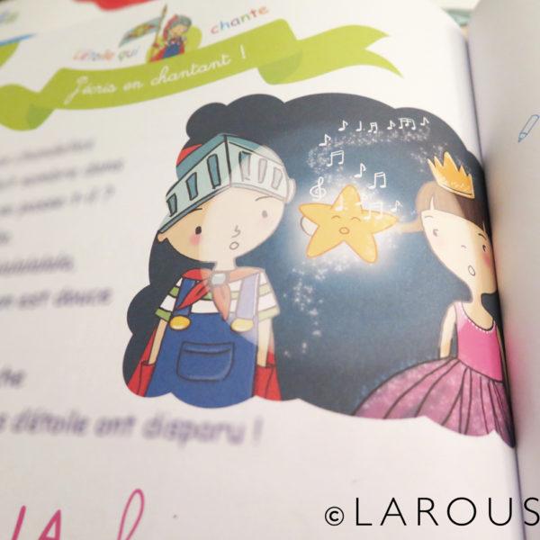 Illustration cahier de grande section maternelle - Larousse
