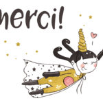 Illustration jeunesse Merci Licorne