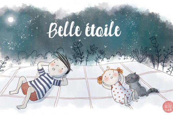 Illustration jeunesse Belle étoile