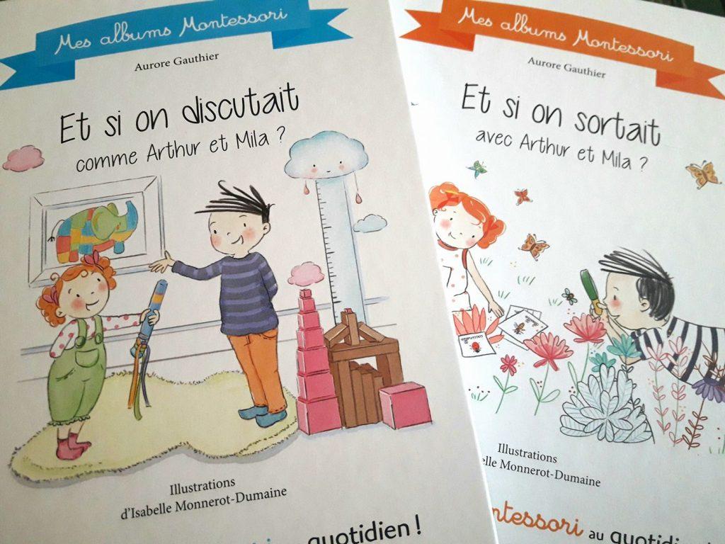Arthur et Mila - Mes albums Montessori - Larousse