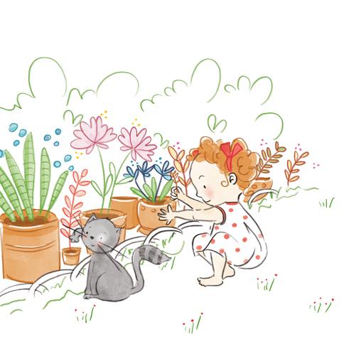 Illustration jeunesse - Mes albums Montessori - Arthur et Mila