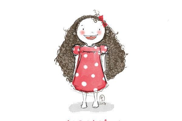 Illustration personnalisée portrait enfant