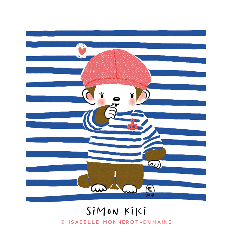 Illustration jeunesse mon Kiki de tous les kikis (monchichi)