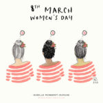 Illustration Women's Day, journée internationale des femmes