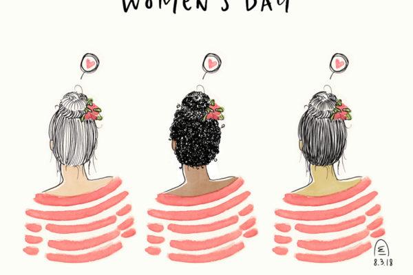 Illustration Women's Day, journée internationale des femmes