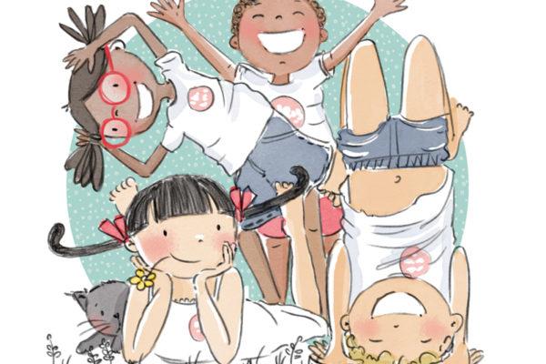 Illustration jeunesse Brins en vacances