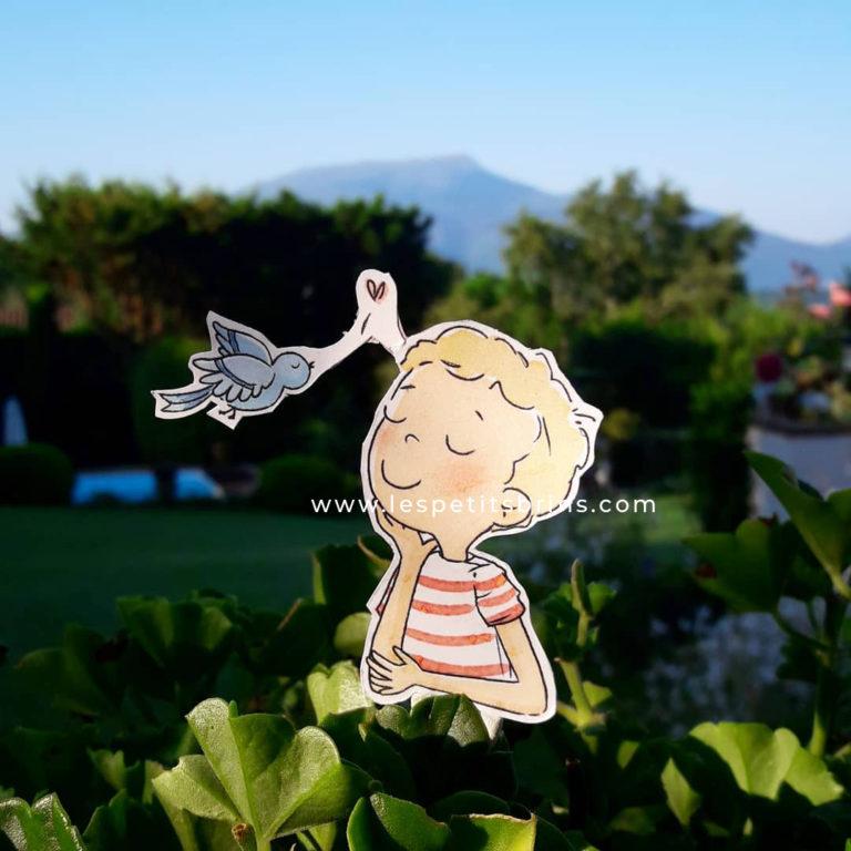 Vacances illustrées - Pays Basque - La Rhune