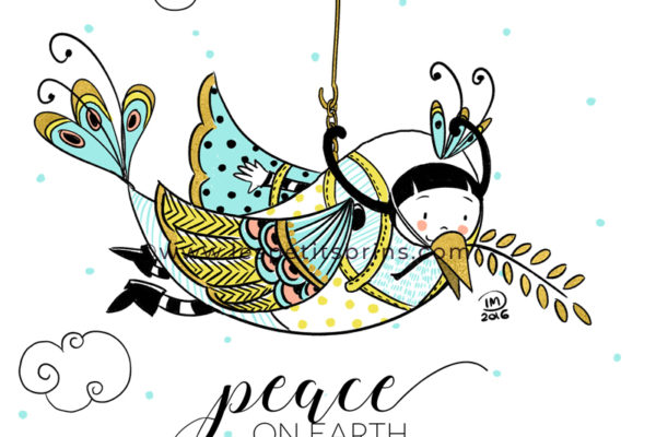 Illustration journée internationale de la paix - International peace day