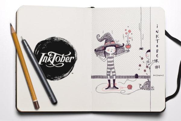 Inktober 2018 illustration challenge