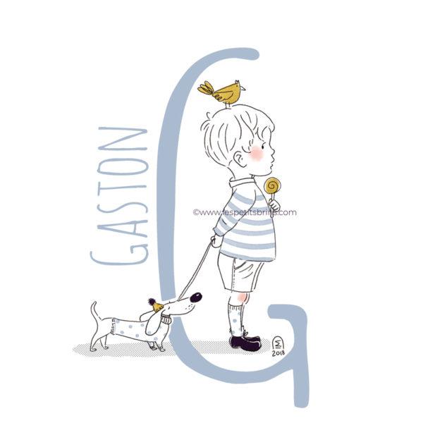 abecedaire-initiale-prenom-enfant-illustration-garcon-personnalisable-bleu