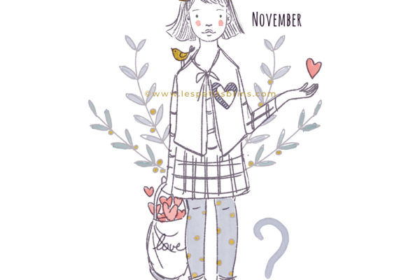 illustration jeunesse novembre november