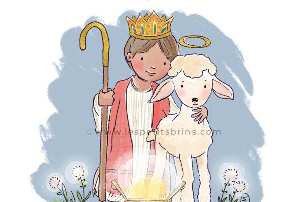 Illustration originale Epiphanie