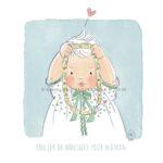 Illustration jeunesse portrait bébé collier de nouilles