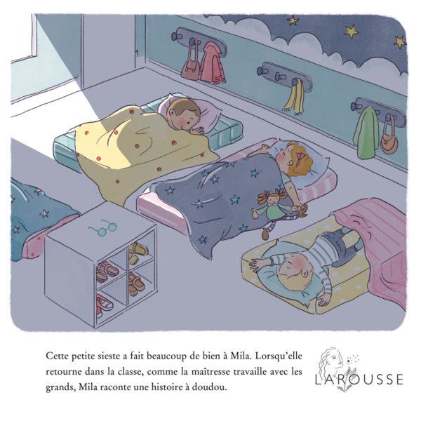 illustration jeunesse arthur mila larousse ecole montessori