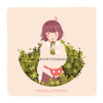 Illustration jeunesse Matcha girl - DTYIS Iraville