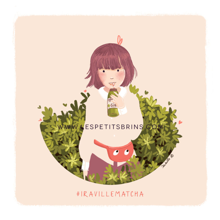 Illustration jeunesse Matcha girl - DTYIS Iraville