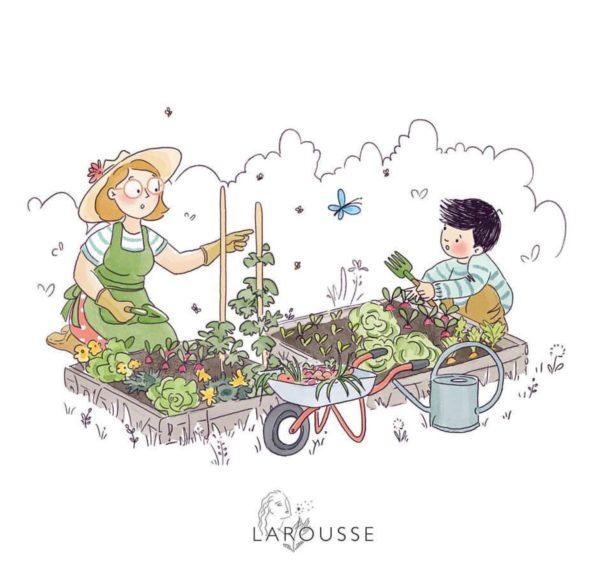 Illusrtration jeunesse Mes albums Montessori - Et si on préservait la planète- Arthur et Mila