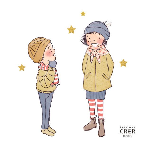 Jules et Manon découvrent les trésors de Noël